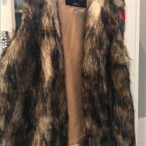 Jackets & Blazers - Furry Vest
